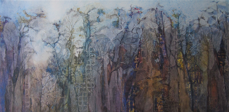C. A. Evans Mixed Media Frosted Forest