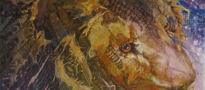 C. A. Evans Art Mixed Media King Kota